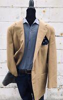 Vintage Polo Ralph Lauren Wilkes Bashford San Francisco Wool Jacket Coat 43R