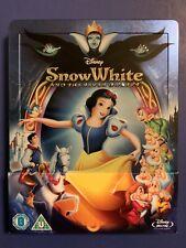 Disney's SNOW WHITE and the SEVEN DWARFS Blu ray Zavvi Exclusive Steelbook
