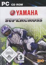 YAMAHA SUPERCROSS Super Cross MX Racing PC Game NEW BOX