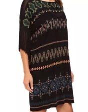 Rachel Zoe Elias Dress Fringe Sleeves Size Xs $395