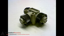BRAD POWER T-CONNECTOR WITH TWO FEMALE ENDS 1 MALE END 5 POLES #160432