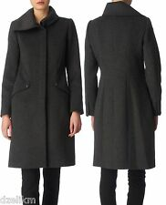 NWT $798 Elie Tahari Wool Blend Fitted Coat Size XS