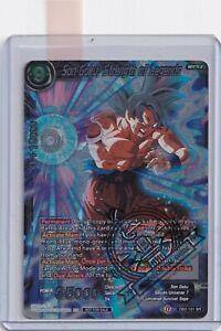 PLAYERS CHOICE PROMO Son Goku, Strength Of Legends DB2-131 SR Dragon Ball Super