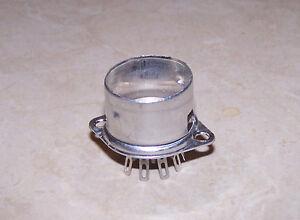 Belton 9 pin Micalex socket - Crimped with Shield Base VT9-ST-C
