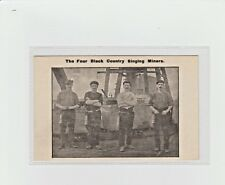 More details for staffordshire the four black country singing miners.