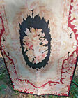 Antique Needlepoint Tapestry Runner Extra long 17 4 X 29