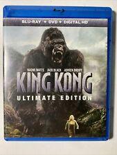 King Kong Ultimate Edition Blu-Ray No Digital