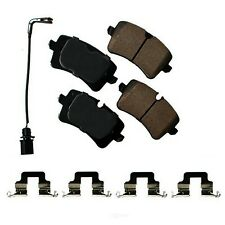 Disc Brake Pad Set-Euro Ultra Premium Ceramic Pads Rear Akebono EUR1547