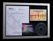 IMAGINE DRAGONS Radioactive CD QUALITY MUSIC FRAMED DISPLAY+EXPRESS GLOBAL SHIP