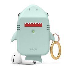 AirPods Case - elago® Shark Case [Baby Mint]