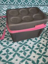 Arctic Zone Grey Pink Drink Beverage Case Cooler Beach Picnic Car 7.5 X10❤️tw11j