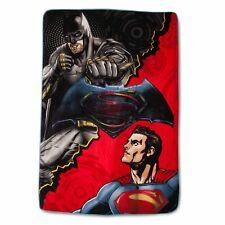 "Batman vs Superman Plush Blanket - Twin 62"" x 90"""