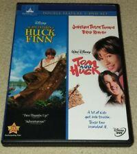Adventures of Huck Finn & Tom & Huck DVD RARE