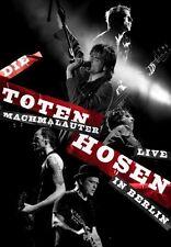 """DIE TOTEN HOSEN """"MACHMALAUTER LIVE IN BERLIN"""" DVD NEU"""