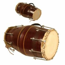 Mid East DHNB Banjira Mumbai Style Nut and Bolt Dholak Percussion Drum NEW 2DAY!