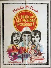 Affiche LE MEILLEUR DES MONDES POSSIBLE O Lucky Man MALCOLM McDOWELL 60x80cm *