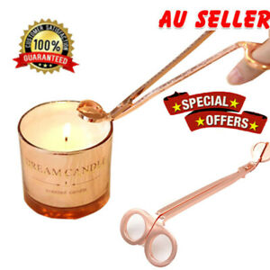 Candle Wick Trimmer Stainless Steel Oil Lamp Trim Scissors Cutter Snuffer Tool