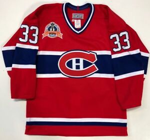PATRICK ROY MONTREAL CANADIENS CCM AUTHENTIC 1993 STANLEY CUP JERSEY 44