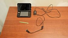 BLUE NINTENDO 3DS XL HAND HELD GAME SYSTEM WITH GREEN STYLIST*