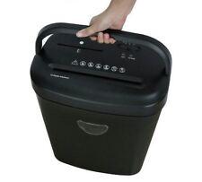 More details for paper shredder shreds 12 sheets 25 litre cross cut black friday credit cards