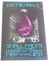 Rod Stewart & Small Faces Psychedelic Fillmore Ticket by David Singer Bg232