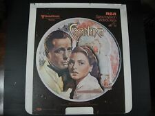RCA Selectavision CED Videodisc  Casablanca