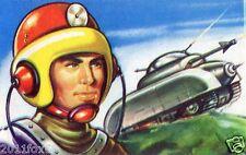 il mondo del futuro figurina 172 figurine lampo 1959 figurines lampo stickers gq