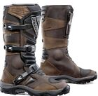 Mens FORMA Adventure Boots Touring Dual Sport Motorbike Motorcycle Brown