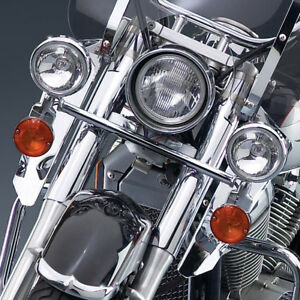 Honda Shadow AERO VT 750 C - Chrome Light Bar / Lightbar w/Turn Signals