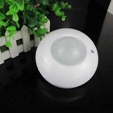 110-240V Body Motion Sensor Infrared Detector LED Lamp ABS Corridor Light Switch