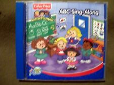 3 FISHER PRICE CD'S ~ ABC Sing-Along, Best Animal Songs & Easter Sing-Along
