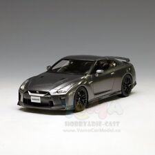 Tarmac Works 1/18 Nissan GT-R R35 2017 Dark Metal Grey T11-MG