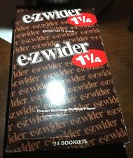 EZ Wider Box(24 Packs)Of Rolling Papers 1 1/4*1.25