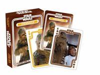 Star Wars Chewbacca Ensemble de 52 Jouer Cartes + Jokers (NM)