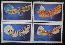 Miconesia 1990 Moths Set. MNH.
