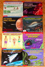 Lot 8 Scholastic QUESTION AND ANSWER SERIES Books & science Q&A L3