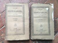 Histoire de René Anjou T. 2-3 F. L. Villeneuve Bargemont Blaise 1825 E. O