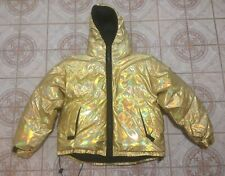 Vintage Tommy Hilfiger Rainbow Flag Down Insulated Puffer Jacket Size XLarge