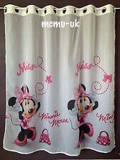 Disney Minnie Mouse Net Curtain Eyelet ring 150cm x 150cm