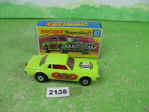 vintage matchbox superfast diecast 62 rat rod dragster boxed 2138