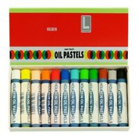 HOLBEIN ARTISTS COLORS 1246L12 ACADEMIC OIL PASTELS SET OF 12