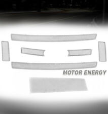 08-10 FORD SUPER DUTY CHROME FRONT UPPER + BUMPER LOWER MESH GRILLE GRILL INSERT