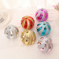 12PCS GLITTER CHRISTMAS BAUBLES XMAS TREE ORNAMENT BALL CHRISTMAS HANGING DECOR
