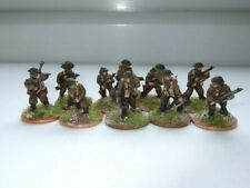Lancer IFB02 20mm Diecast WWII Mid Late British Infantry Section Assaulting 1944