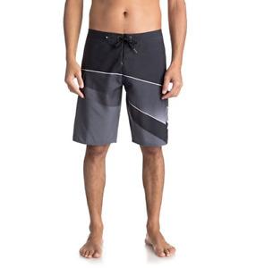 Quiksilver Slash Fade Logo 21 Swim Trunk Gray Size 40 7331