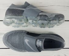 NIKE Women Air Vapormax Flyknit Moc Cool Grey Wolf Grey AA4155 006 - Size  9