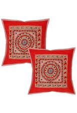 Floral Ethnic 100% Cotton Decorative Cushions & Pillows