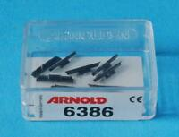 10 x NEW ARNOLD 6386 TRACK TRANSITION RAIL JOINERS GLEISUBERGANGSKUPPLUNG