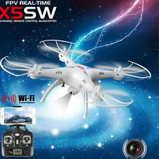 Outdoor blanc X5SW Explorers-II FPV 2.4Ghz 50 M RC Drone Hélicoptère Wifi Caméra