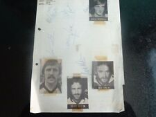 TORQUAY UNITED   1970s ??   10 Players  Signed